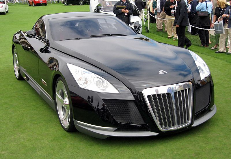 top 10 most expensive cars in the world, maybach excelero
