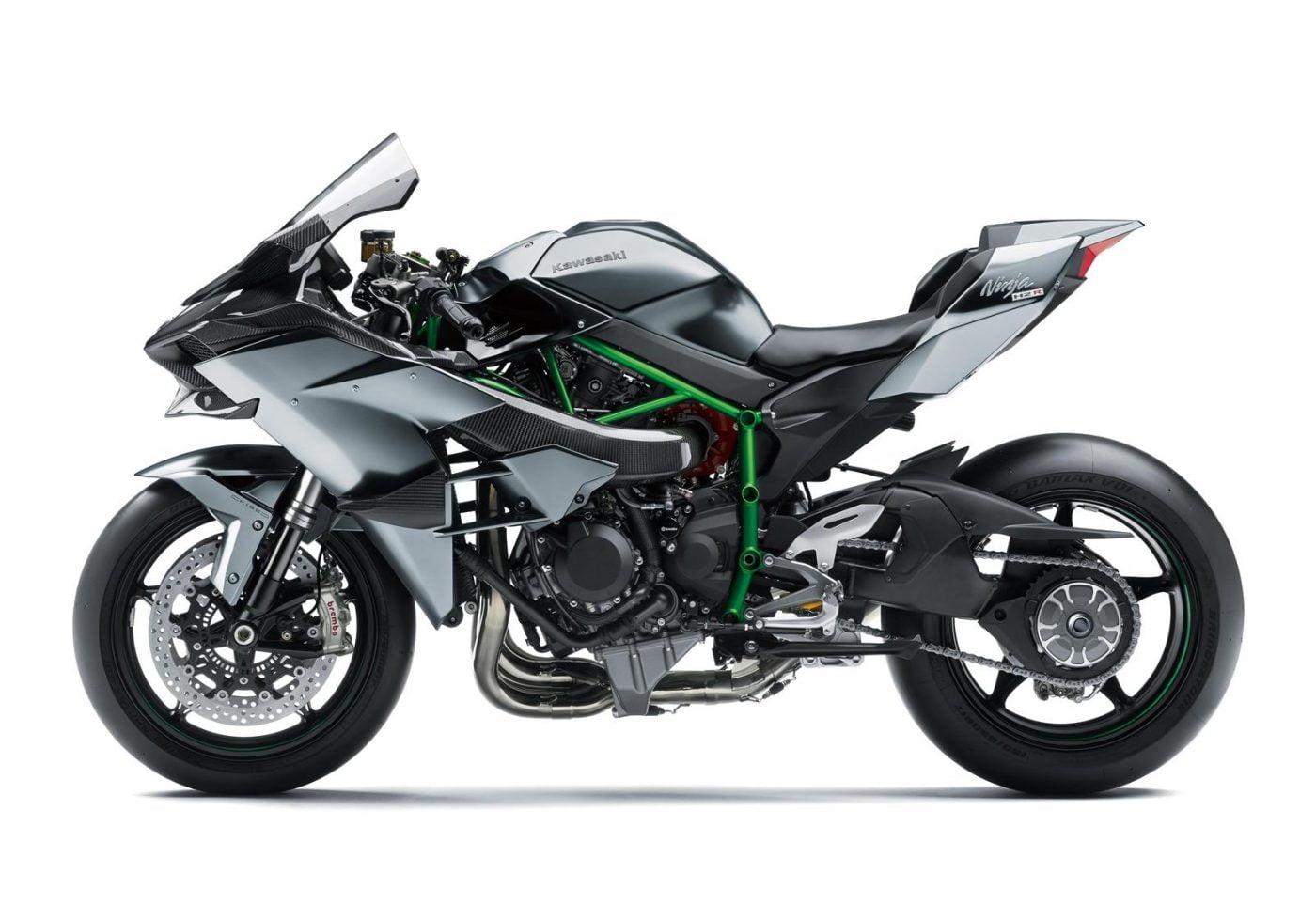 Kawasaki Ninja H2R fastest bike