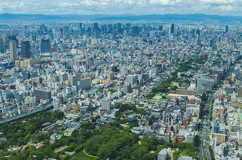 top 10 most populated city in the world Osaka