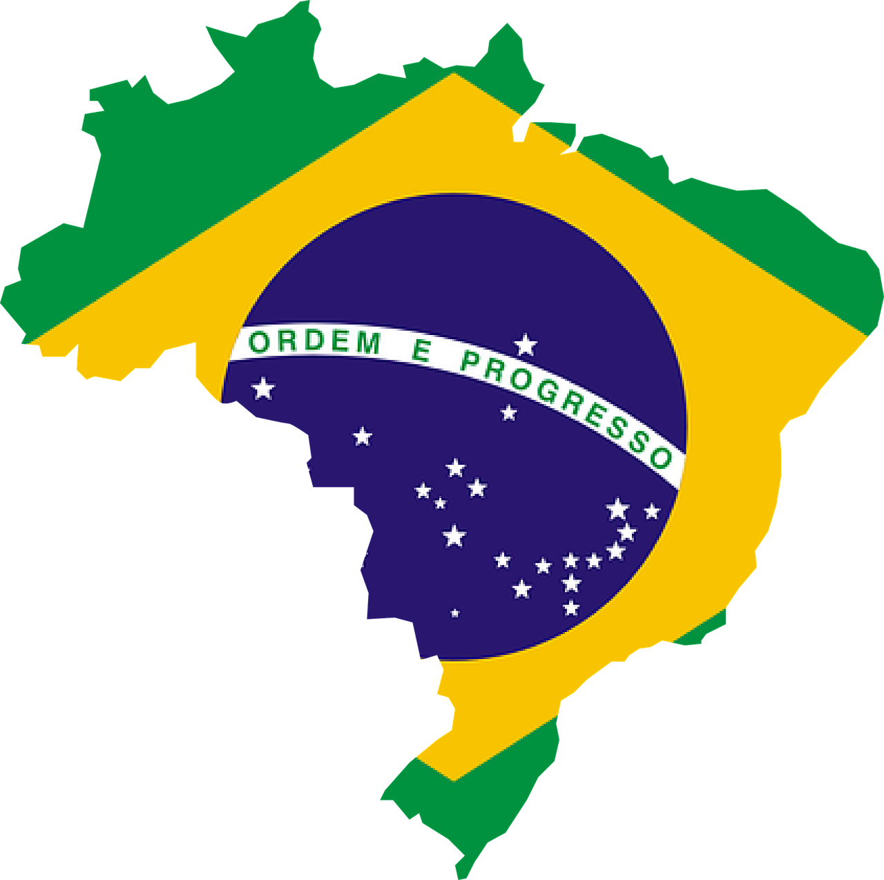 Brazil by total area