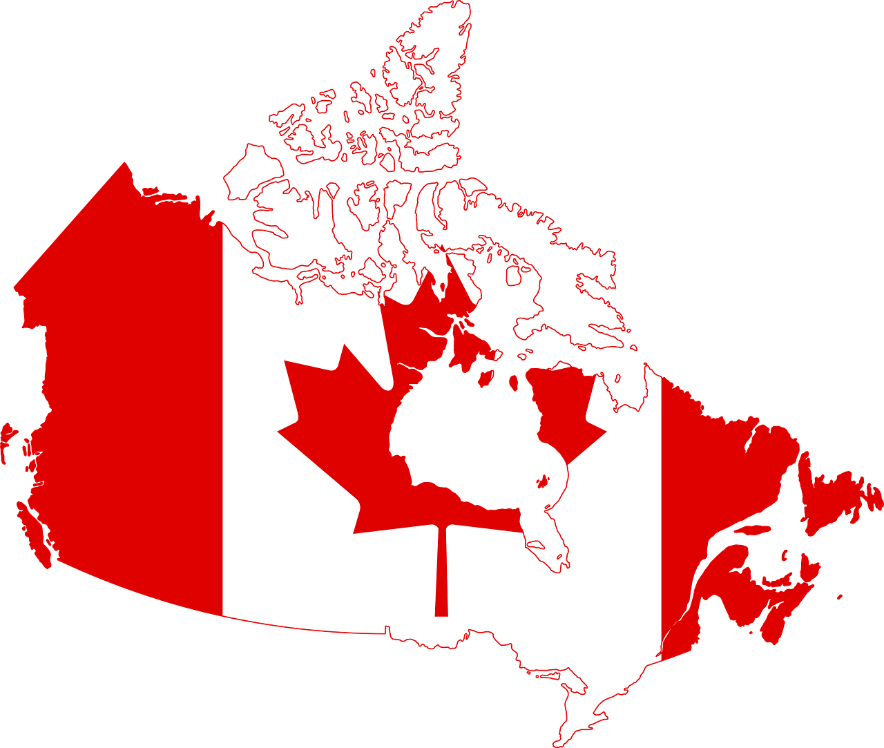 top 10 largest countries in the world Canada