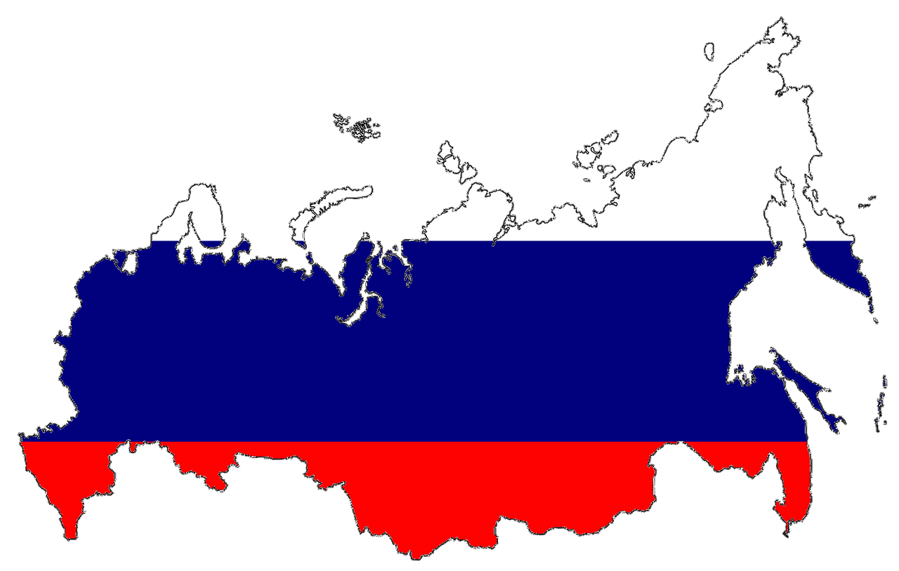 Russia by area