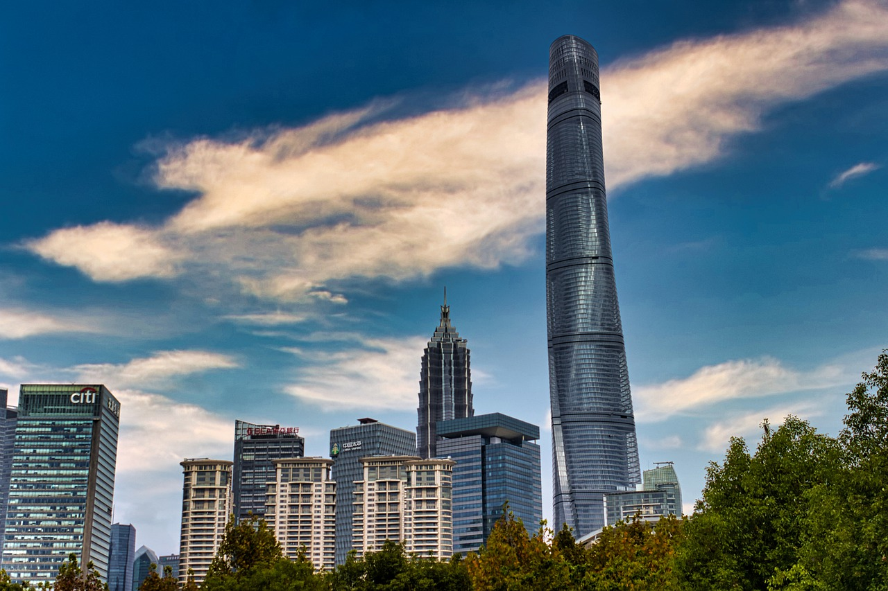 shanghai tower top 10 tallest buildings in the world