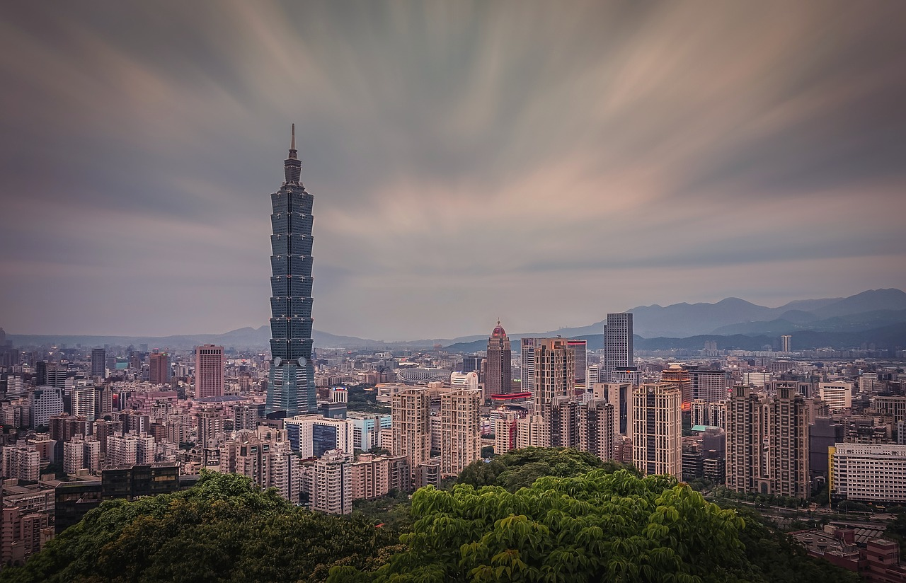 tallest buildings in the world taipei 101