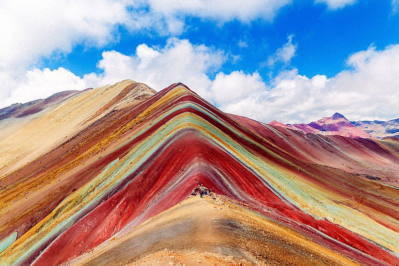 vinicunca most beautiful mountains in the world