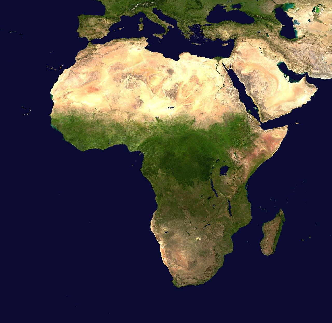 which is the largest continent in the world africa