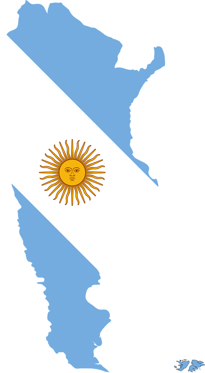 Argentina by area