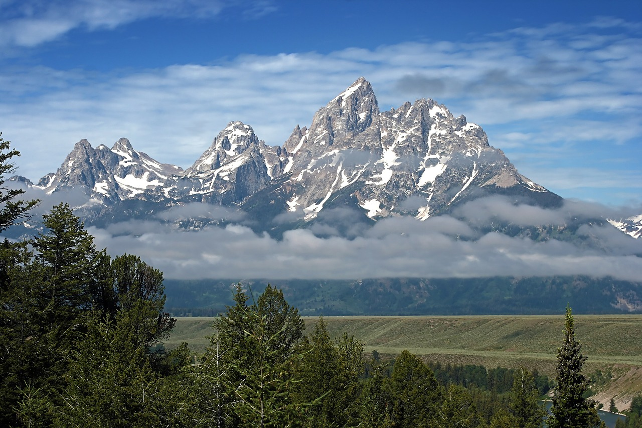 grand teton most beautiful mountains in the world