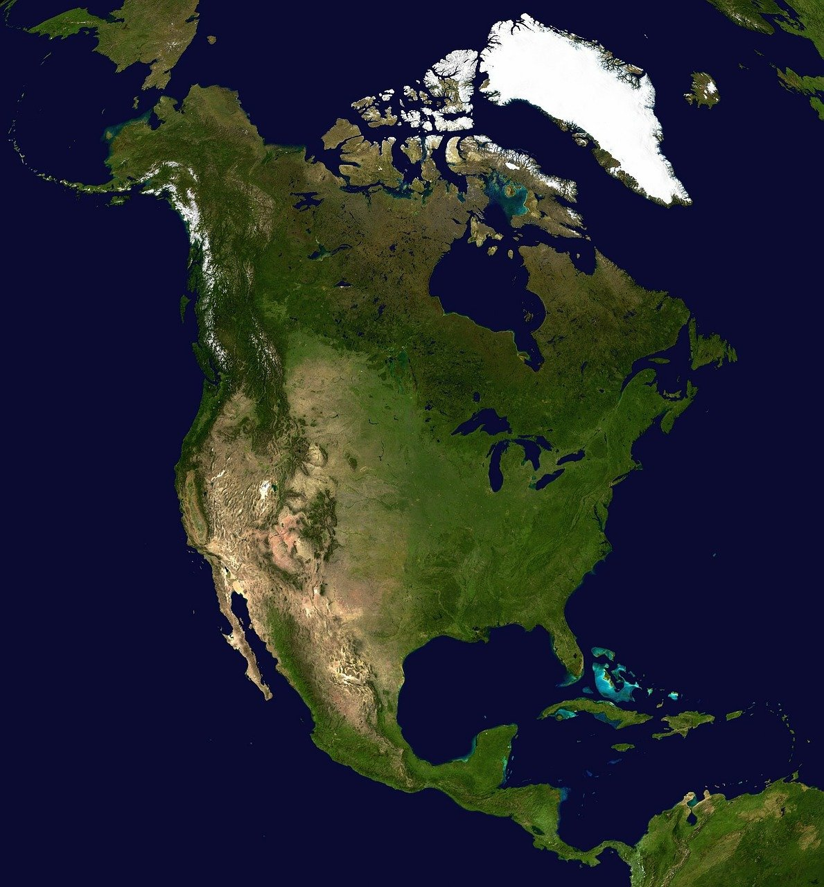 which is the largest continent in the world north america