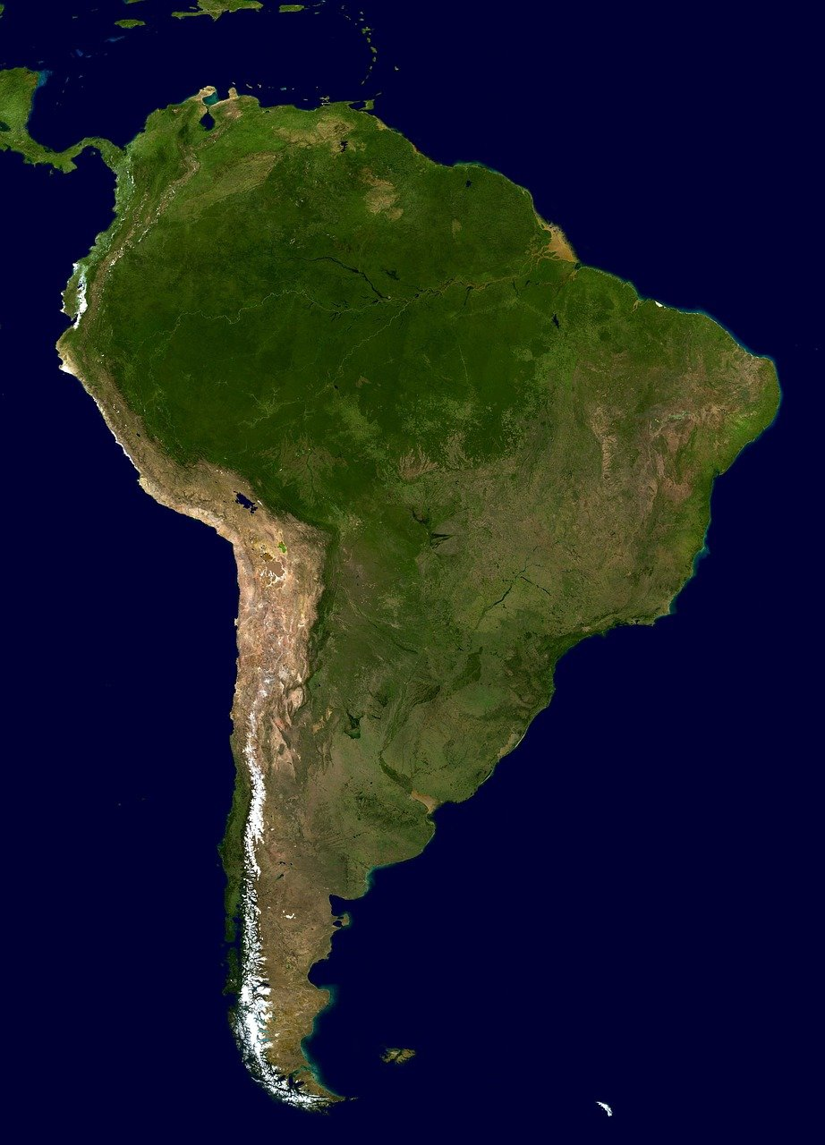 which is the largest continent in the world south america